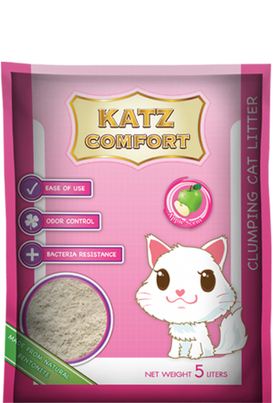 Katz Comfort Cat Litter - Apple Scent