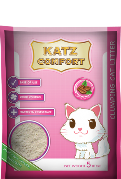 Katz Comfort Cat Litter - Coffee Scent