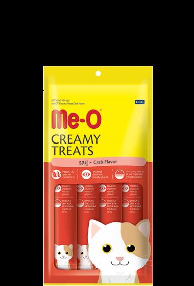 ME-O Creamy Treat Crab Flavor